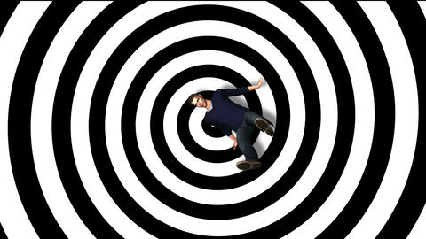 Vertigo Falling Man HD1080 .Made in AE cs5 software Animation