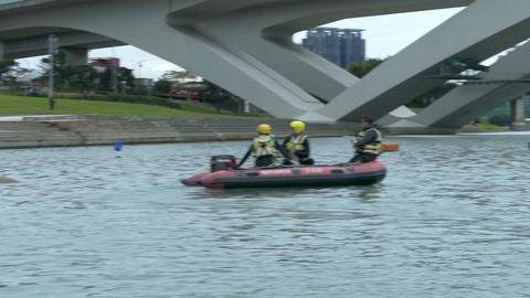 Search and rescue team bitan new taipei city Footage