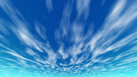 Cloud sky 02 Animation