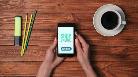 Online Shopping With Smartphone 0
