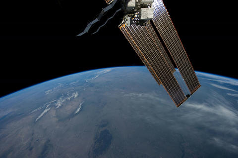 Ungraded: ISS Over Western North America Footage