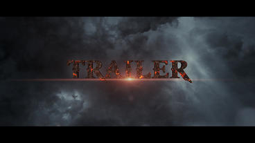 Trailer Titles After Effects Projekt