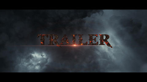 Trailer Titles After Effects Template