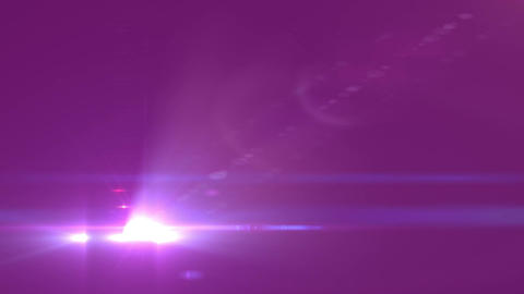 Abstract Motion Background With Lens Flares and twirl effect Stock Video Footage