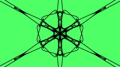 moving kaleidoscope of different shape Animation