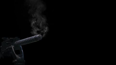 shotgun,muzzle and smoke Animation
