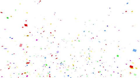 Confetti SQ 1 Slant Fix 2LcW L 4k CG動画素材