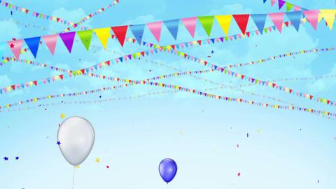 Happy Birthday (11) CG動画素材