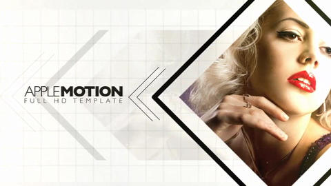Slideshow059 Apple Motion Template