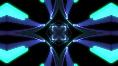 Light Beam Kaleidoscope 3 C 5c 4 K Animation