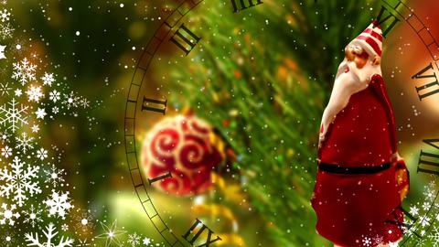 Watches of Santa Claus Footage