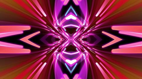 Light Beam Kaleidoscope 3 C 6e 4 K Animation