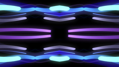 Light Beam Kaleidoscope 3 D 1h 4 K Animation
