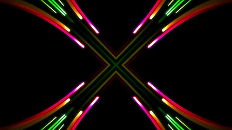 Light Beam Kaleidoscope 3 G 6a 4 K Animation