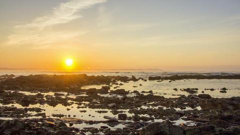 Sunset Timelapse Tamarist Marrocos 4 K Footage