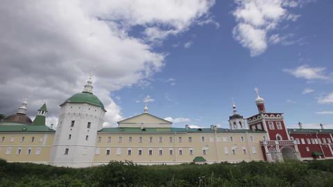 Ancient Christian Monastery Footage