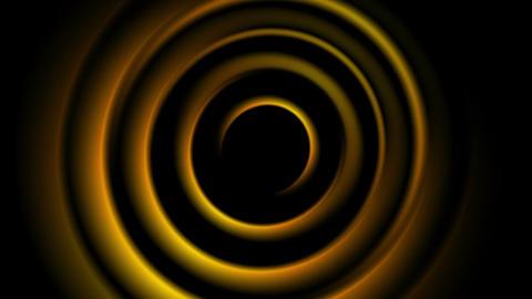 Dark orange abstract smooth circles video animation Animation