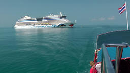 Thailand Ko Samui Island 002 crossing from cruise ship to the mainland Footage