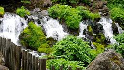 Mt Youtei spring water Hokkaido IMGP2810 Footage