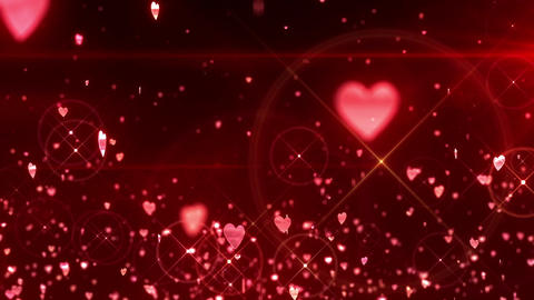 SHA Hearts Image Effects Red CG動画