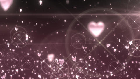 SHA Hearts Image Effects White CG動画