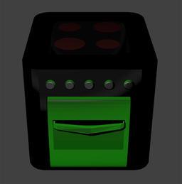 Cooker Modelo 3D
