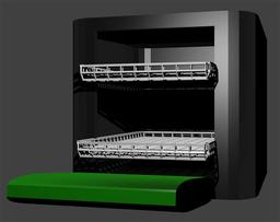 Dishwasher 3D Modell