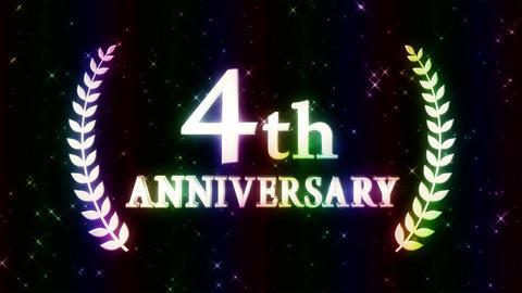4th anniversary Animation