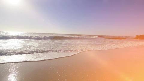 Video of ocean waves in California in 4K Footage