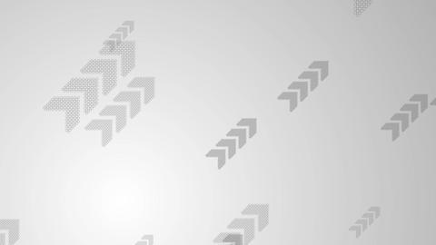Abstract grey tech video animation with arrows Animation