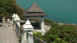 Thailand Ko Samui Island 029 stairway to the water and a pavilion Footage