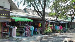 Thailand Ko Samui Island 049 gift shop near Wat Phra Yai temple Footage