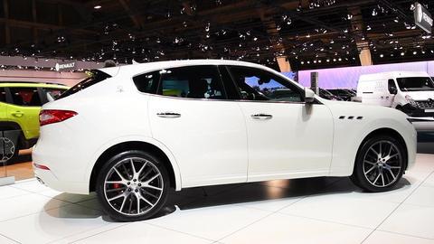 Maserati Levante Italian luxury SUV Footage