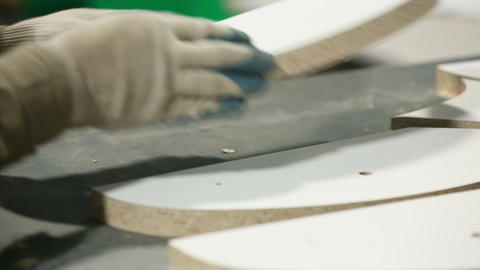 Furniture production Footage