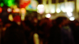 Crowd at night ビデオ