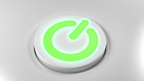 Power button switch turn off technology smartphone computer TV gadget device 4K Footage