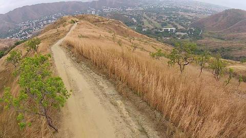 Desertic landscape mountain 01 Live Action
