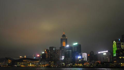 A panoramic view of Hong Kong Footage
