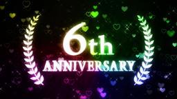 6th anniversary Animation