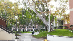 Campus of the University of Southern California Footage