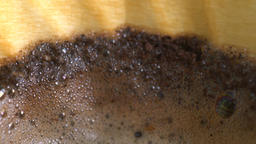 Dripping hot coffee Footage