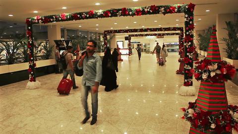 Colombo Airport New Year Sri Lanka Footage