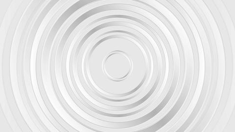 Grey pearl glossy abstract circles video animation Animation
