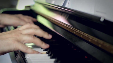 Talented Pianist Footage
