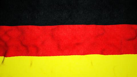 German Flag Seamless Video Loop Animation