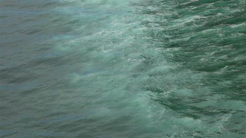 Foamy ocean water Footage