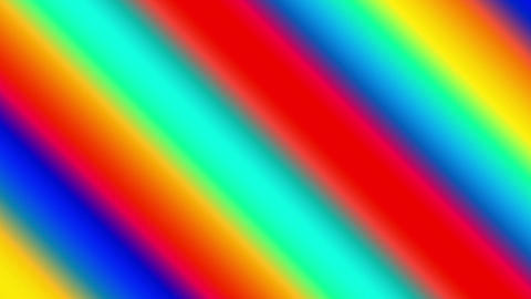 Diagonal Fast Run Rainbow Colored Lines Abstract Background Animation