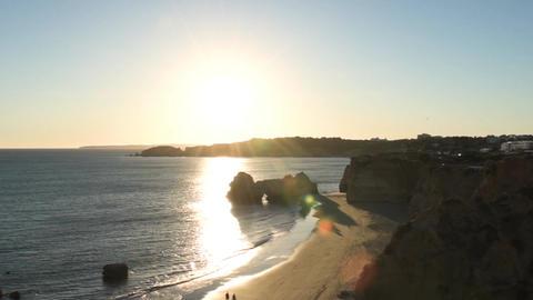Praia da Rocha in Portimao, Portugal