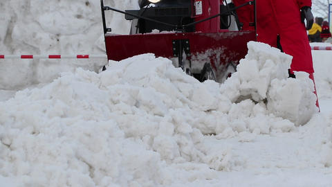 Snow removal Footage