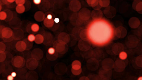 Abstract background with blurred particles. Seamless loop Animation